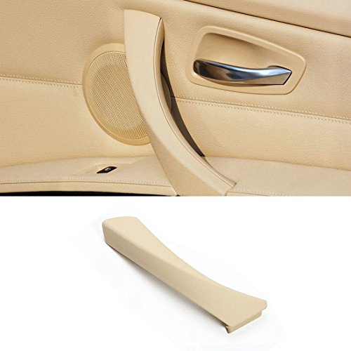 Jaronx for BMW 3 Series E90/E91 Door Clasp Handle, Right Front/Right Rear Door Handles Outer Cover Interior Door Trim Covers (Fits:BMW 323 325 328 330 335 2004-2011)