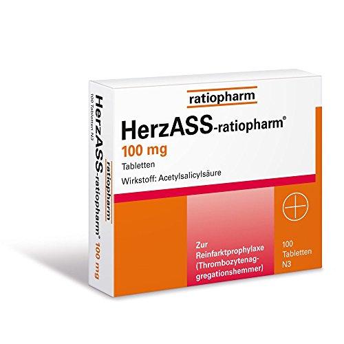HerzASS-ratiopharm 100 mg, 100 St