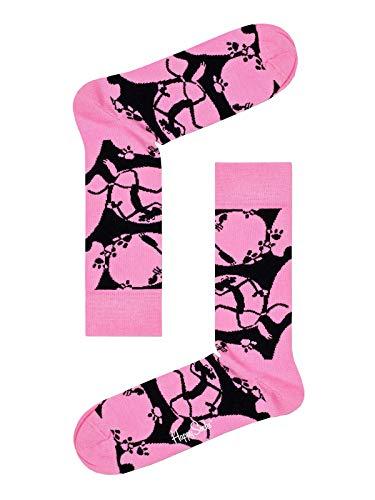 Happy Socks Pink Panther Pink A Boo Unisex Freizeitsocken Größe 41-46