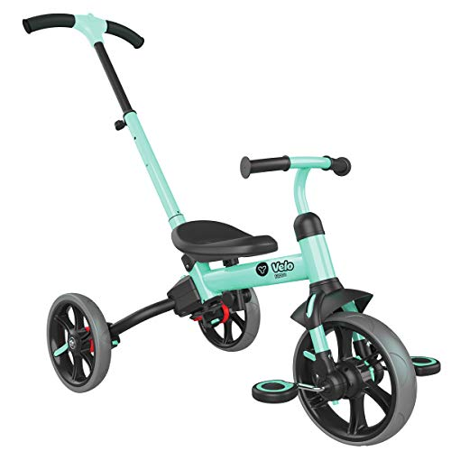 Yvolution Y Velo Flippa 4in1 Toddler Trike to Balance Bike | Ages 25 Years Green