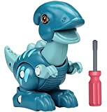 Smarkids Take Apart Dinosaur Toys for Kids, Building Toy Set with Screwdriver Construction Engineering Play Kit STEM Learning for Boys Girls Toddlers Age 3 4 5 6 7 Year Old- Saurolophus