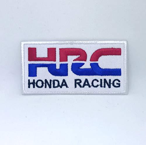 HRC Honda Racing - Chaqueta de ciclismo para coser o planchar