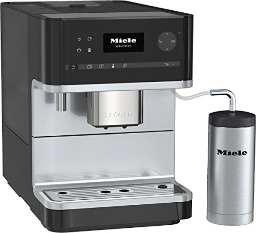Mielecm 6310Stand–Cafetera automática, color negro negro obsidiana