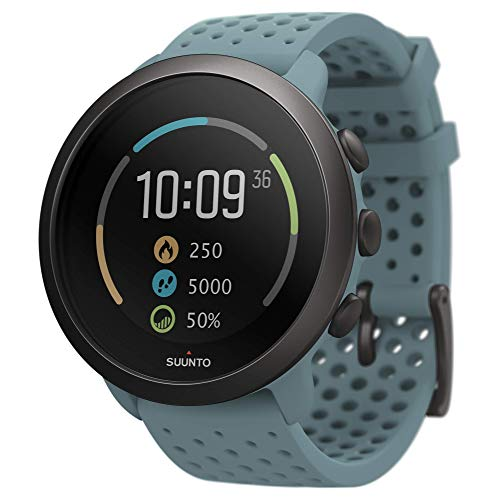 Suunto 3, Sports Watch with Wrist-Based Heart Rate, 24/7 Fitness Activity and Recovery Tracking - Moss Grey