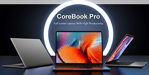 CoreBook Pro 13-inch (2160x1440) Laptop, 8GB RAM 256GB SSD, Intel Core i3-6157U, Windows 10, Dual Wifi, BT4.2, USB 3.0, Backlit Keyboard