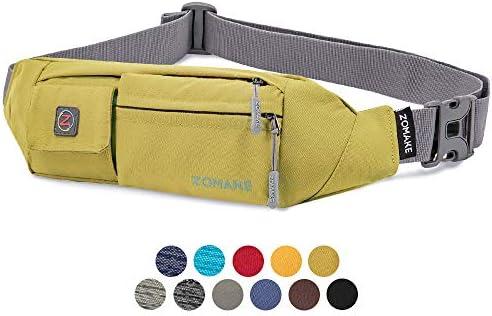 ZOMAKE Fanny Pack for Men and Women Slim Belt Bag Water Resistant Waist Bag Pack for Running product image