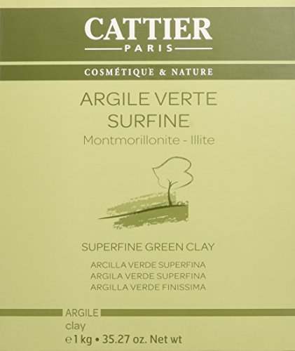 Cattier - Argile verte surfine - 1kg