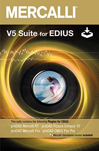 Mercalli V5 EDIUS Suite WIN -Lifetime Lizenz (Product Keycard ohne Datenträger)