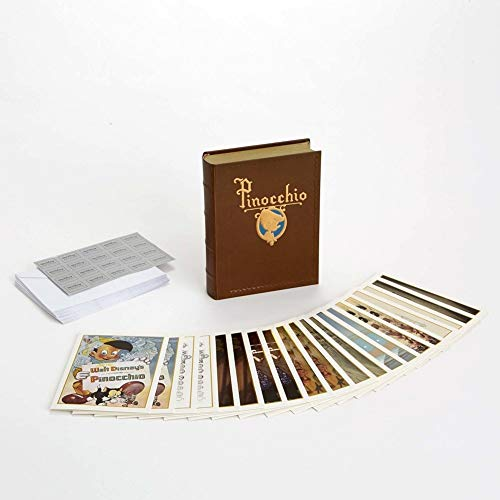 Walt Disney Archives Pinocchio 20 Note Card Set with Keepsake Book 4051314 New