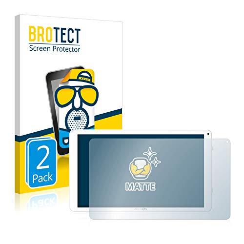 BROTECT 2X Entspiegelungs-Schutzfolie kompatibel mit Archos Access 101 WiFi Bildschirmschutz-Folie Matt, Anti-Reflex, Anti-Fingerprint