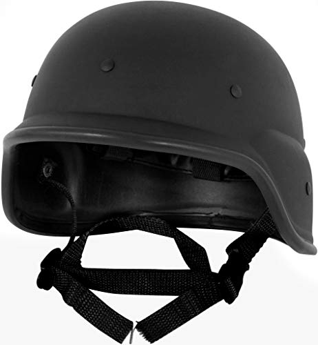 Modern Warrior Tactical M88 ABS Tactical Helmet - with Adjustable Chin Strap