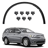 munirater Front Right Wheel Fender Flares Trim Moulding Replacement for 2011-2018 Dodge Durango 57010620AE CH1291112