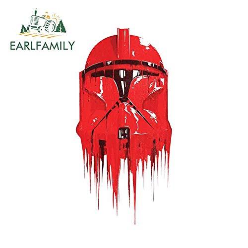 BLOUR EARLFAMILY 13cmx 6.4cm Für Star Wars Motorrad Auto Aufkleber Persönlichkeit Kreative Aufkleber Autozubehör Kratzfestes Dekor