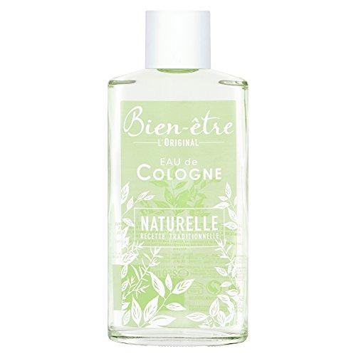 Bien-Etre Eau de Cologne naturelle 70°, essences naturelles - Le flacon de 250ml