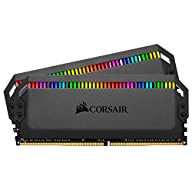 Corsair Dominator Platinum RGB 16GB (2x8GB) DDR4 3466 (PC4-27700) C16 1.35V - Black