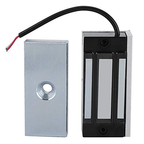Elektromagnetische Türschlösser der einzelnen Tür 24V elektromagnetische Verriegelung 60KG, 132LB, Haltekraft für inländisches Wertpapier
