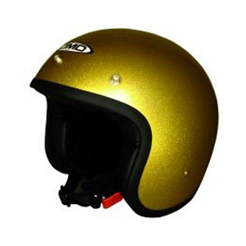 spaciobiker CASCO JET DMD GLITTER GOLD TALLA XS