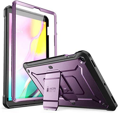 SUPCASE Hülle für Samsung Galaxy Tab S5e 10.5 Zoll 2019 Bumper Hülle 360 Grad Schutzhülle Robust Cover [Unicorn Beetle PRO] mit integriertem Bildschirmschutz & Ständer (SM-T720 / T725) (Lila)