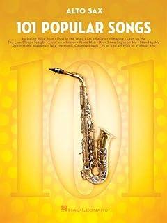 101 Popular Songs: for Alto Sax (SAXOPHONE)