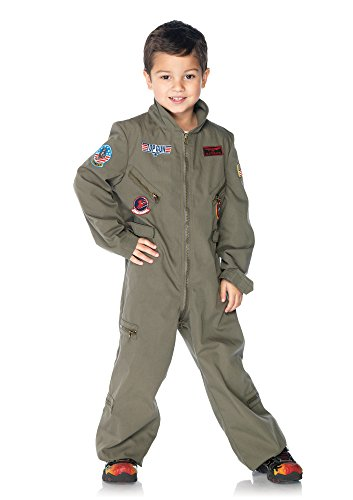 Leg Avenue Top Gun Flight Suit, Xs, Khaki