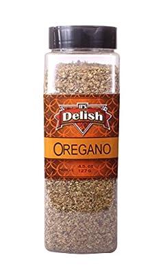 Oregano Leaves by Its Delish, 4.5 Oz. Large Jar