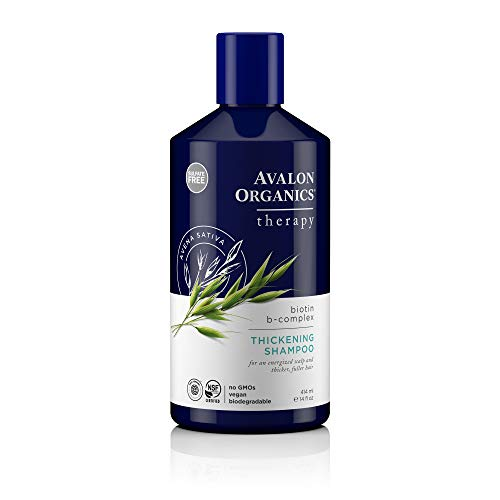 Avalon Organics Biotin B-Complex Thickening Shampoo, 14 oz.