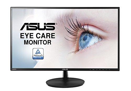 Asus VN247HA Monitor 23.6'', FHD (1920x1080), VA, Super Narrow Bezel, Flicker Free, Low Blue Light
