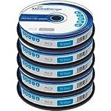 Blu-ray Disc Mediarange BD-R 25 Go, 6x vitesse en cakebox, 50 pièces