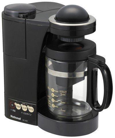 パナソニック コーヒーメーカー ブラック NC-S35-K