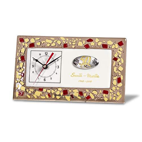 Sadurní-Ràfols Reloj Personalizado para Bodas de Oro Gold Dune