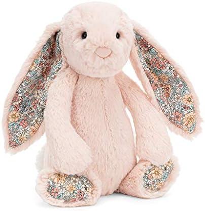 Jellycat Blossom Posy Bunny Stuffed Animal, Medium, 12 inches