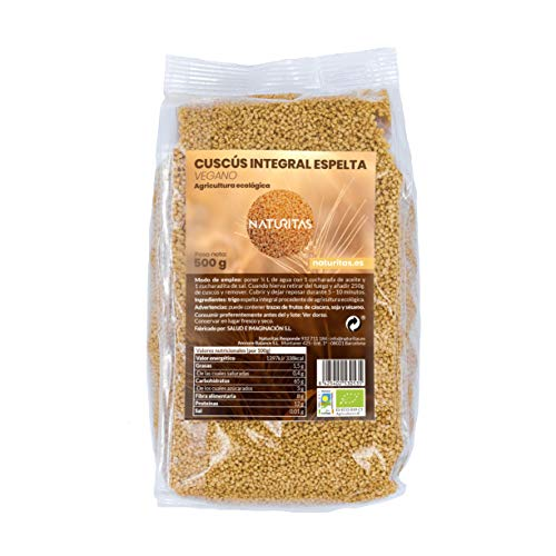 Cuscús Integral Espelta Bio 500gr | Vegan | Rico en fibra