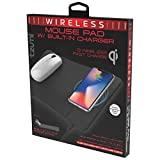 Tzumi Wireless Charging Mouse Pad and Rechargeable...