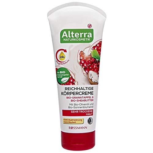 Alterra Reichhaltige Körpercreme Bio-Granatapfel & Bio-Sheabutter, 200 ml