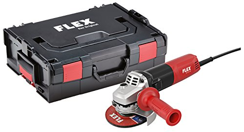 Flex haakse slijper LE 9-11 125 230/CEE (incl. L-Boxx/900 Watt/met variabele snelheidsinstelling)