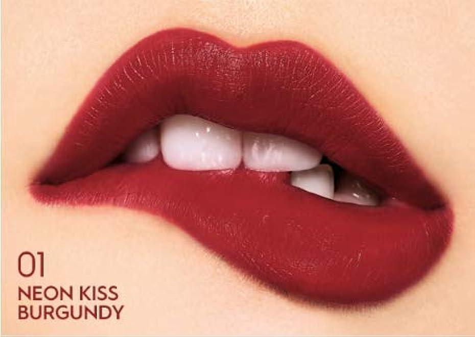 CELEBEAU (セレビュー) Secret Neon Lip Tint シークレットネオンリップティント #Neon Kiss Burgundy