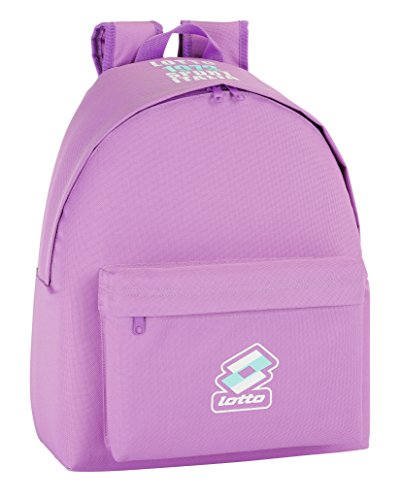 Lotto - Mochila, color malva (Safta 641437774)
