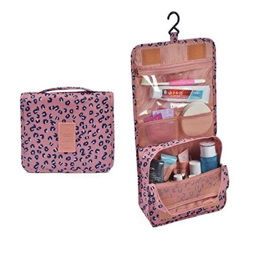 JLYLY Crochet Voyage Sac De Toilette Sac À Cosmétiques Hommes Et Les Femmes Sac De Rangement De Douche Portable,Pink 2