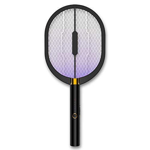 Lubudup Matamoscas eléctrico antimosquitos, atrapa moscas, atrapamoscas de insectos, recargable por USB,...