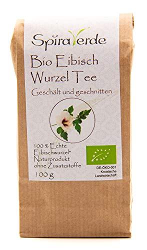 Spira Verde Bio Eibischwurzeltee Premium, geschält und geschnitten (100g)
