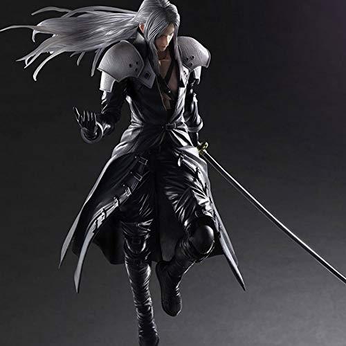 Yifuty Play Arts Geändert FF7 Action Figure Animierte Puppe Final Fantasy 7 Advent Sohn Sephiroth kann eine Modellpuppe 270mm Machen