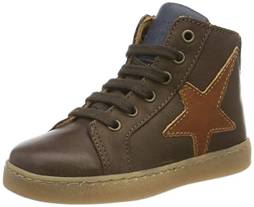 Bisgaard Unisex-Kinder Harald Hohe Sneaker, Braun (Brown 302), 24 EU