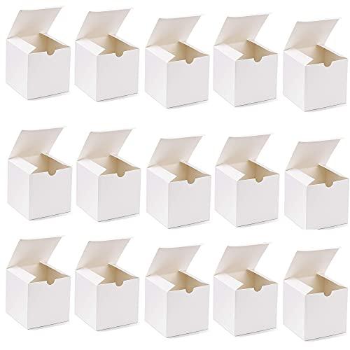 Scatole Regalo,Scatola Regalo con Coperchio Bianca,Scatole regalo rettangolari multiuso,Scatola per Regalo,Scatole di Carta Bianche con Coperchi per Regali,Scatole Cartone Regalo Compleanni,15Pcs