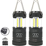 Gold Armour LED Camping Lantern, 500 Lumen Lanterns Battery Powered LED, Survival Kits for Power...