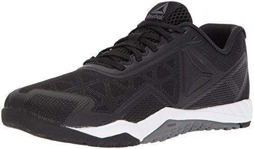 Reebok Women's ROS Workout TR 2.0 Sneaker, Black/Alloy/White, 8.5 M US