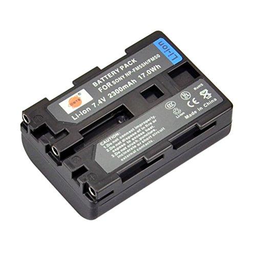 DSTE® NP FM50 Li ion Batería para Sony NP FM30