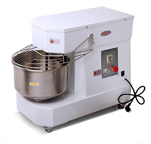 Hakka Commercial Dough Mixers 10 Quart Stainless Steel Spiral Mixers (DN10)