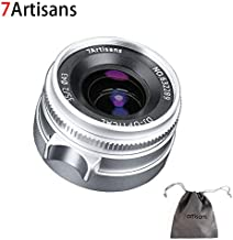 7artisans 35mm F2.0 Leica M Mount Fixed Lens for Leica M-Mount Cameras Like Leica M-M Leica M240 Leica M3 Leica M6 Leica M7 Leica M8 Leica M9 Leica M9p Leica M10 (Silver)