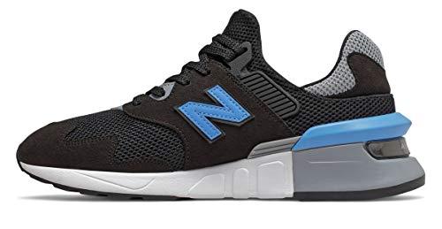 New Balance Zapatillas deportivas para hombre 997S Fitness Performance, negro (Negro/Light Lapis Blue/White), 41 EU