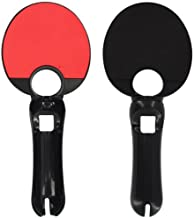 Skque Ping Pong Paddle for Sony PlayStation 3 Move-color in Black with Red